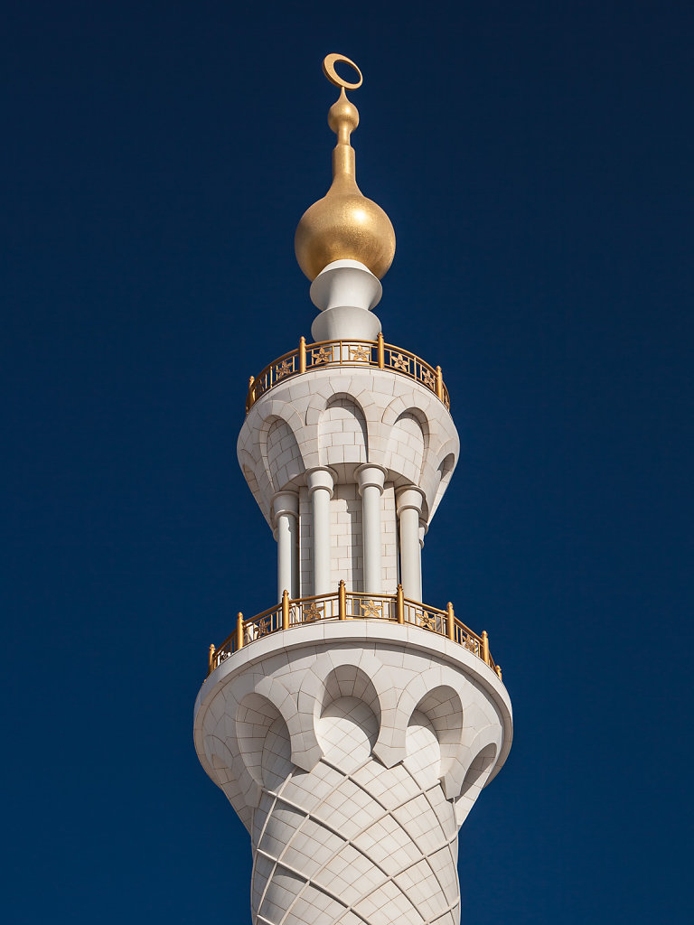 Sheikh Zayed Mosche, Abu Dhabi